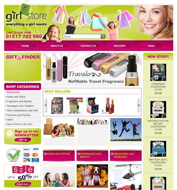 GIRLeStore