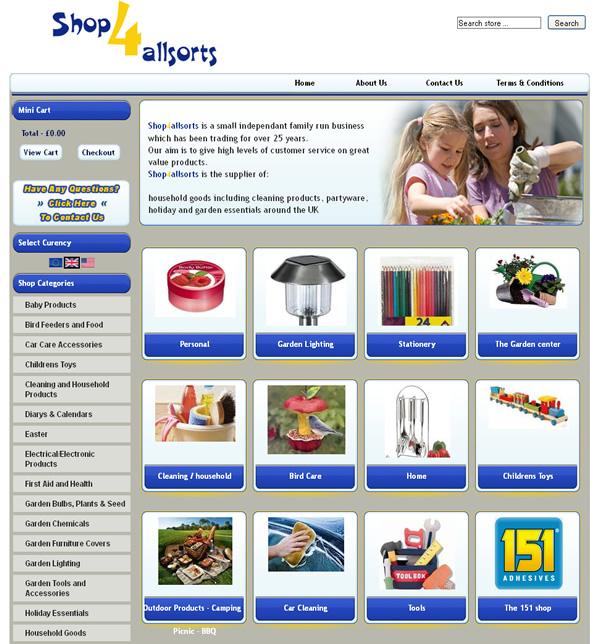 Shop 4 allsorts