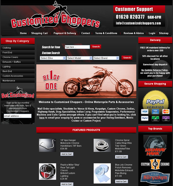 Customized Choppers