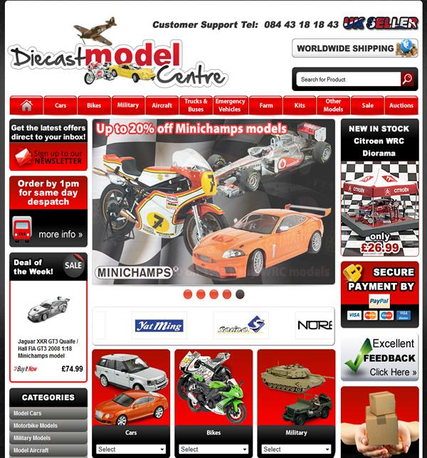 Diecast Model Center