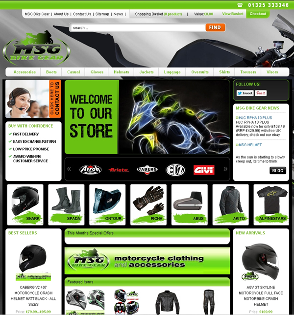 Msg Bike Gear