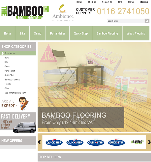 The Bamboo Flooring