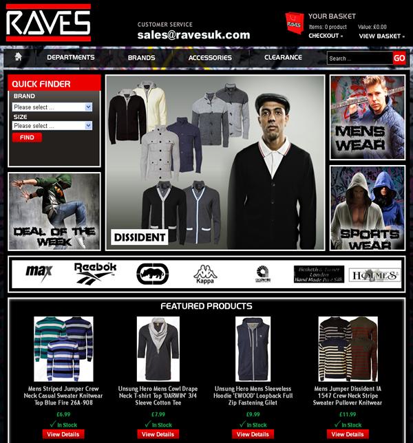 Raves Clothing