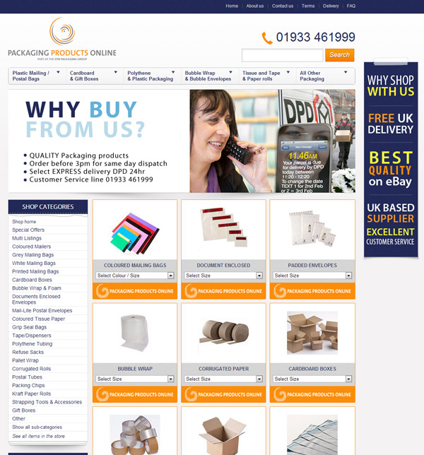 Packaging Products Online