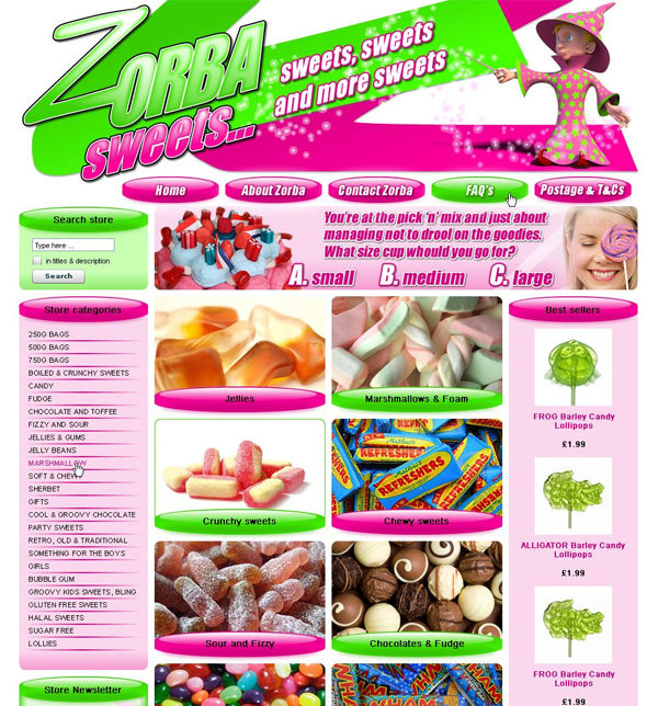 Zorbar Sweets