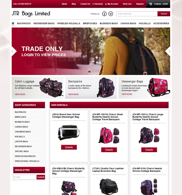 JTR Bags