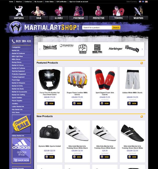 Martial Arts Shop