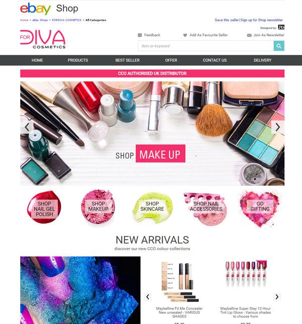 For Diva Cosmetics