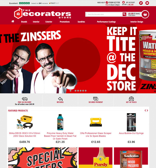 The decorators store