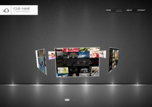 3D interactive websites